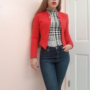 Red Blazer size S Forever 21
